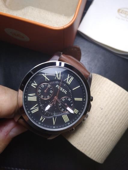 Relógio Fossil Grant Fs4813 Usado 2 Vezes