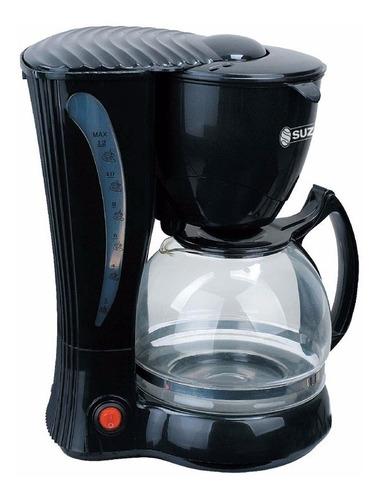 Cafetera Electrica Jarra Vidrio Filtro Suzika Caf035 12 Taza