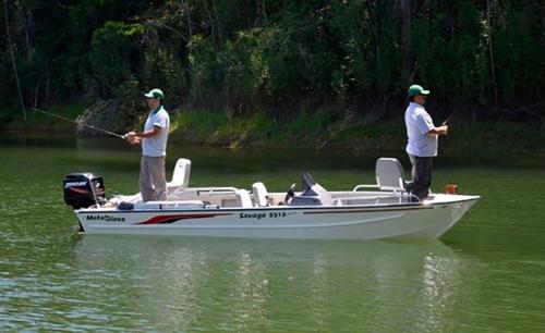 Savage 5513 Double Fishing C/ Mercury 60 4t Pronta Entrega