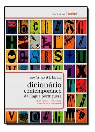 Dicionário Contemporâneo Língua Portuguesa Novissimo Aulete
