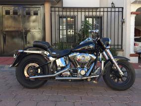 Moto Chopper Harley Davidson Heritage 2006 Negro