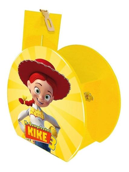 Alcancía Dulcero Centro Mesa Jessie Toy Story Personalizado