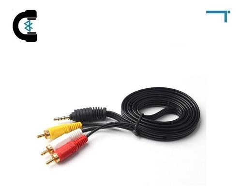 Imagen 1 de 2 de Cable De Audio Aux 3.5 Mm Stereo A Rca Video Envío Gratis
