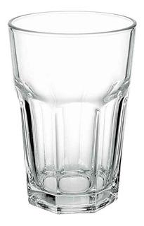 Vaso Vidrio De Agua 410 Ml. Línea Bristol