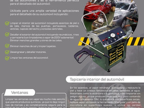 Maquina A Vapor, Autolavados, Desinfeccion, Limpieza