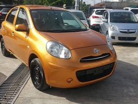 Nissan March 2012 Inicial Desde 70,000