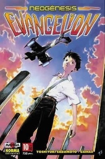 Neogénesis Evangelion 10 - Yoshiyuki Sadamoto