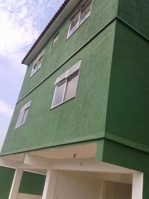 Casa Triplex 2 Quartos, 1 Banheiro, 1 Lavabo E Garagem, Vila São Luís, Belford Roxo. - Ca0075 - 32690365