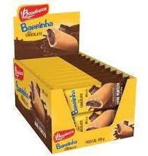 6cx Barrinha Maxi Chocolate 25g  Com 20 Unidades-bauducco