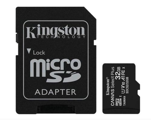 Imagem 1 de 4 de Cartão De Memória 32gb Kingston, Micro Sd Classe 10