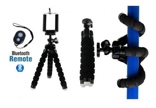 Imagen 1 de 3 de Trípode Para Camara O Celular Mini Flexible De 7 PuLG. + Bot