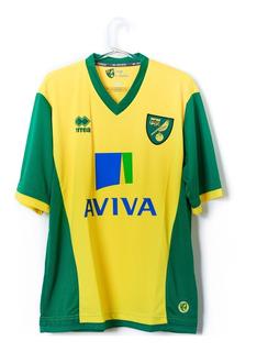 Camisa De Futebol Masculino Norwich City 1203/14 Errea