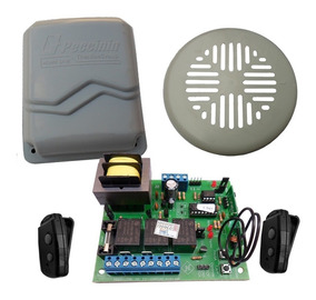 Tampa Completa + Central+controles Para Motor Bv Gatter