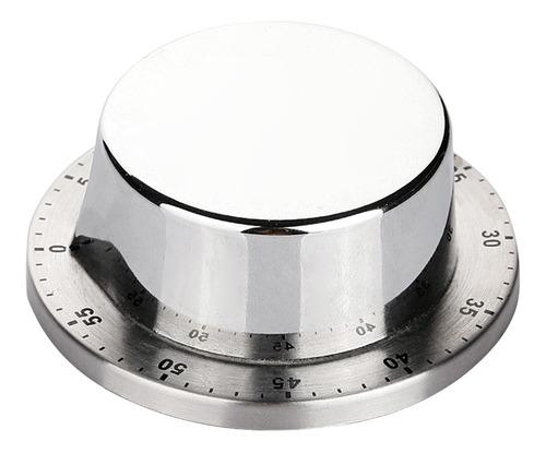 Temporizador De Cocina De Acero Inoxidable, Reloj Con Alarma