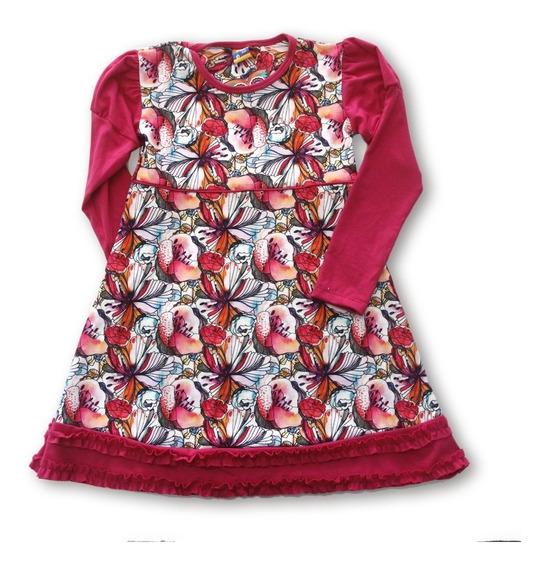 Vestido Diseño Nena 2 Al 12 Dilotu