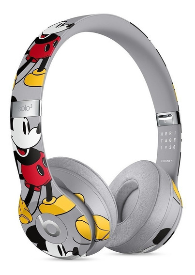 Fone Beats Solo3 Wireless Mickey Ed. Especial - Novo Lacrado