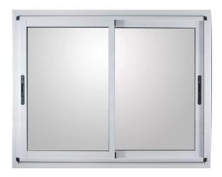 Ventana Modena Aluminio Blanco 150x110 Con Mosquitero 4mm