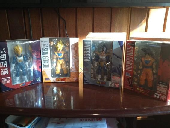 Lote De Action Figures Dragon Ball Z Shfiguarts