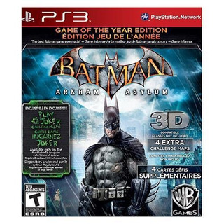 Batman: Arkham Asylum - Goty - Ps3