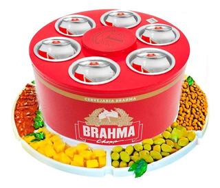 Cooler 3g Cerveja Gelada Brahma Latas + Petisq Giratória