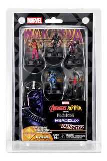 Marvel Heroclix: Avengers And Black Panther Fast Forces
