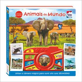 Livro - Aventura Fotográfica - Animais Do Mundo - Happy Book