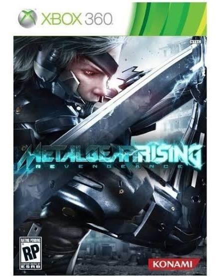 Metal Gear Rising Revengeance Xbox 360 Original Mídia Física
