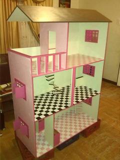 Casa De Barbie En Mdf. Solo Por Este Mes 120$