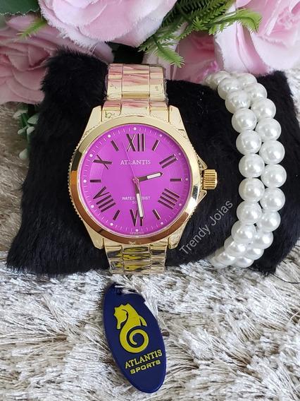 Relógio Feminino Atlantis Original