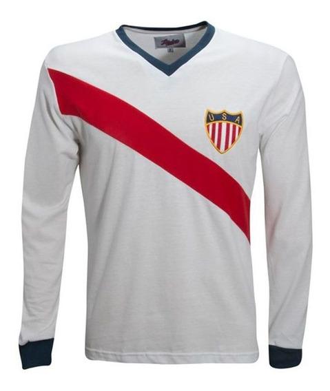 Camisa Estados Unidos 50 Liga Retro