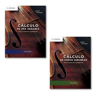 Calculo Una Variable + Varias Variables Stewart (2 Libros)