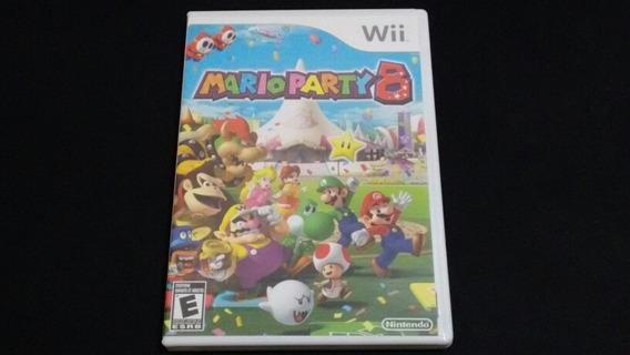 Mario Party 8 Nintendo Wii Original Americano Completo