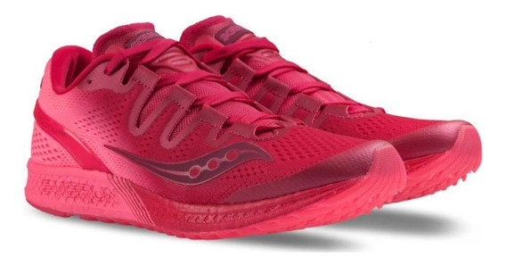 Saucony Freedom Iso Mujer + Meses Sin Intereses Ultimos Pare