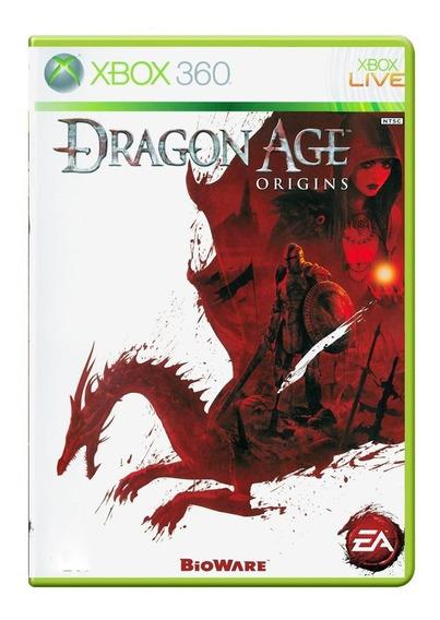 Dragon Age Origins Xbox 360 Mídia Física Pronta Entrega