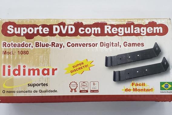 Suporte Modem Dvd Roteador Video Game Regulável 16-28cm