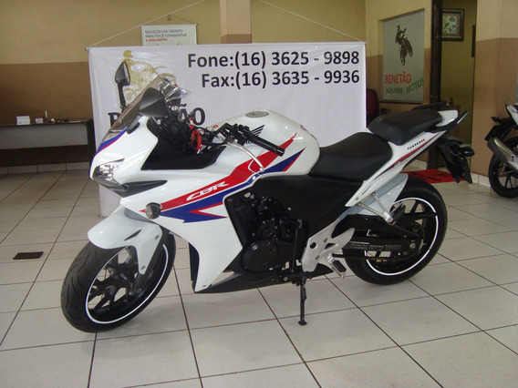Honda Cbr 500 R Branco 2014