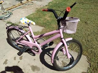 Bicicleta Paseo Nena Rodado 20
