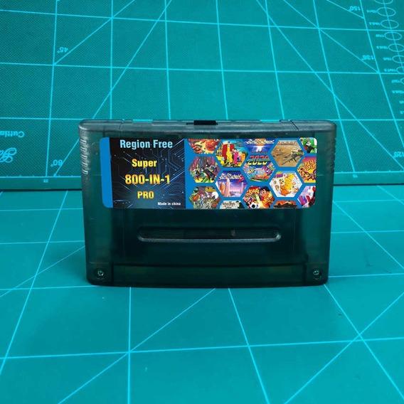 Fita Super Everdrive Flashcard China Version Super Nintendo Melhor Q Super Ufo8 + Cartão Com 8 Gb De Jogos