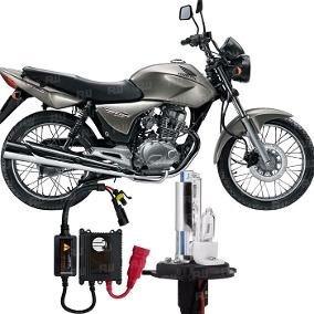 Xenon + Reator H4 Moto Honda Cg 150 Titan