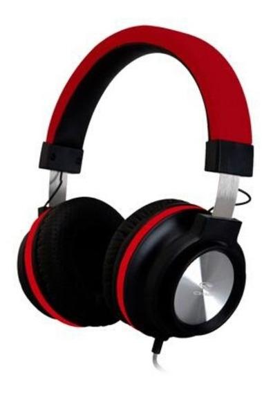 Fone Com Microfone Ph-300 Preto / Vermelho C3tech