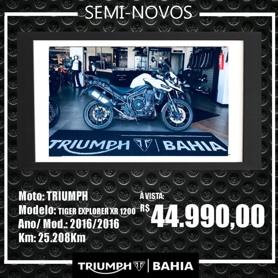 Triumph - Tiger Explorer Xr 1200. 2016/2016