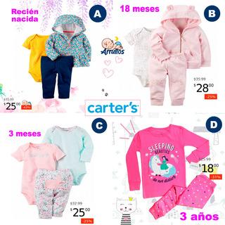Conjuntos Carters De Bebé Y Niñas