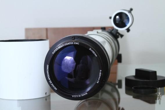 Telescópio Refrator Apocromático Meade 102mm Emc F9 Ota