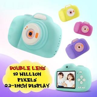 Bebé Niños Video Digital Dual Lente Mini Cámara Regalo Jugue