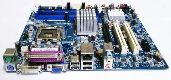 Placa Mãe + Processador + 2 Gb De Ram