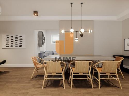 Apartamento À Venda Em Jardim Paulista, Com 2 Quartos, 142 M² - Ja16461