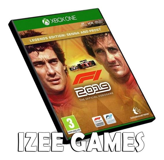 F1 2019 Legends Ed.senna & Prost Xbox One Digital + 1 Jogo