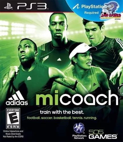 Jogo Ps3 Mi Coach adidas Novo Lacrado