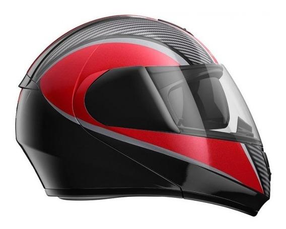 Capacete Honda Original Hms 58 Escamoteável X Carbon
