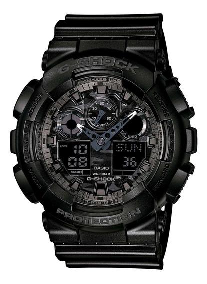 Relógio Casio Ga-100cf-1adr G-shock Camuflado - Refinado